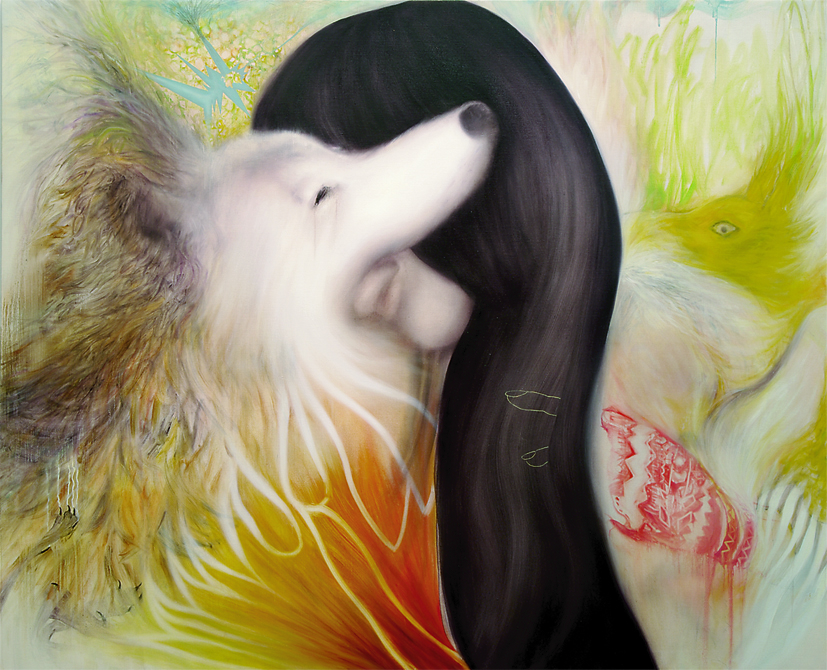 キス/KISS 2273×1818 oil on canvas 2012
