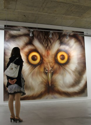 「owl no,2」 3880×3240 oil on canvas 2014