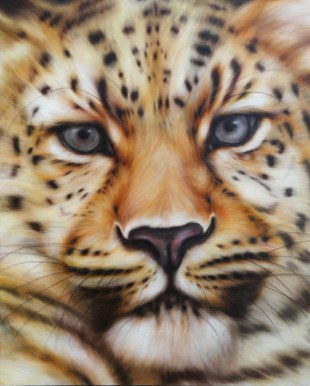 panther no.1 oil on canvas 1,620×1,300 2015